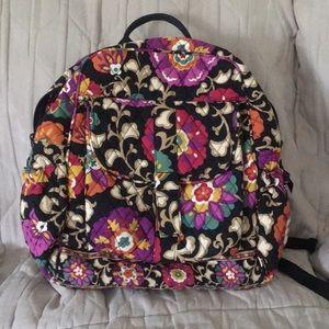 Fabric Vera Bradley back pack